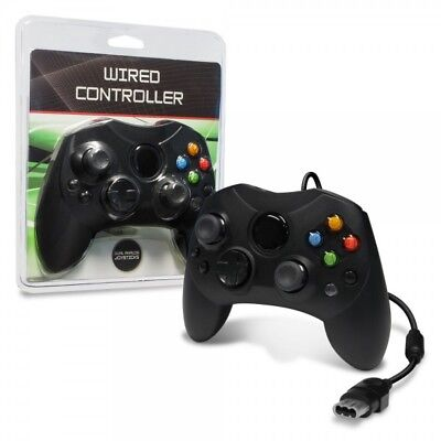 New Wired Remote Controller Gamepad for Original Microsoft Xbox System Black