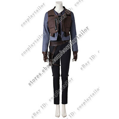 Star Wars Rogue One Jyn Erso Cosplay Costume Halloween Party Comfortable to Wear](Halloween Costumes To Wear)