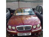 Rover 75 club se automatic, 2002, low mileage.