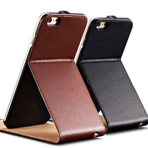 NEW LEATHER CASE FOR IPHONE 6 PLUS 5.5 INCH FLIP WITH STAND