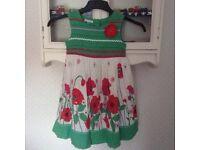 John Lewis Girls Dress Age 6years.
