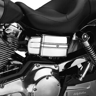 EMBELLECEDOR CRHOME PANEL ELECTRICO HARLEY DYNA 04-UP