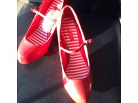 Size 4 Red Mary Janes Next £10