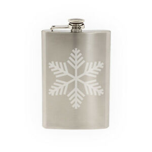 Snowflake-Pattern-2-Winter-Art-Christmas-Decoration-8-oz-etched-flask