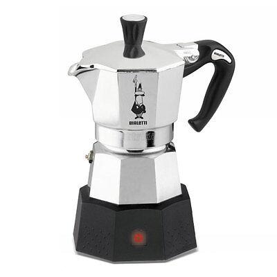 Bialetti Moka Elettrika 2 Tazas Cafetera Eléctrico Café Espresso 220V