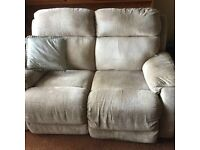 Reclining electric sofa (2 available) NEEDS TO GO ASAP