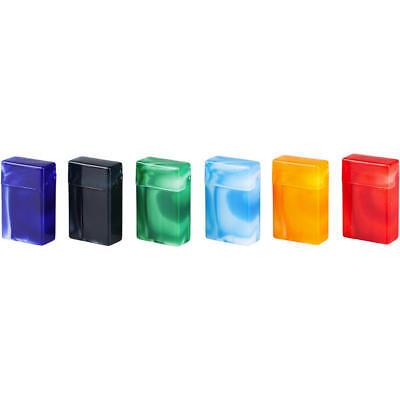 6 Stück Zigarettenboxen ( Zigarettenetui ) marmoriert für ca. 25 Zigaretten