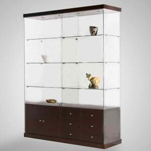 Glass showcases. Curio, Glass Display Cases,
