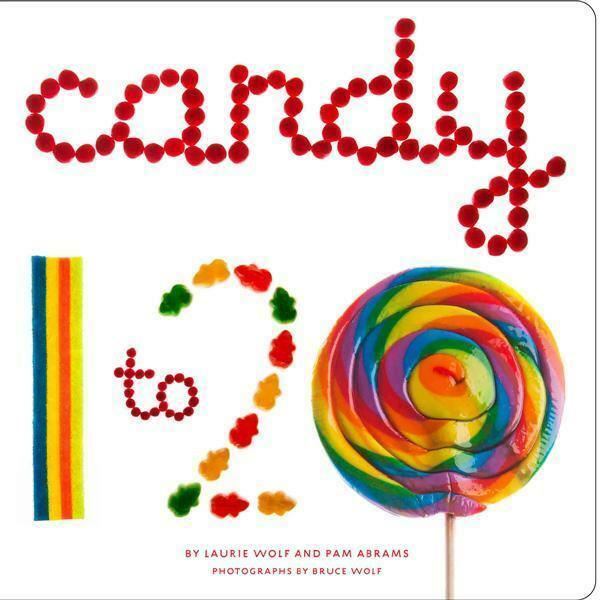 NEW Candy 1 to 20 By Laurie Wolf Board Book Free Shipping