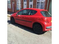 Peugeot 207 1.4 S 1360cc 2007 spares or repair ..STILL FOR SALE ...