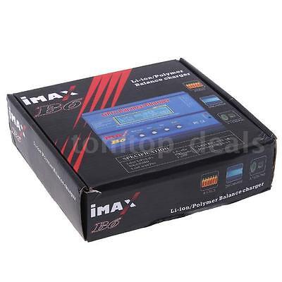 Gute Qualität IMax B6 Digital LCD NiMH-Lipo-Akku Ladegerät DE STOCK D9S3