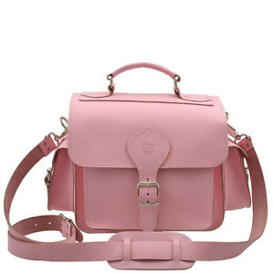 GRAFEA LEATHER CAMERA BAG(PINK)
