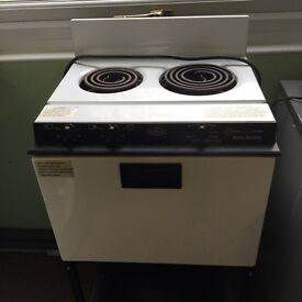 Baby Belling table top two ring hob with oven VGC