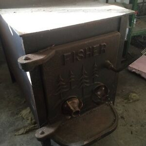 Momma bear fisher wood stove must go!
