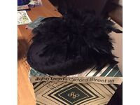 Ladies wedding,racing hat new in box