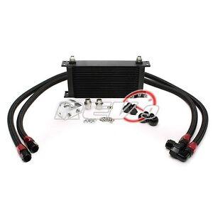 19 Row Oil Cooler Kit (bar/plate core) 2jzge 2jz jza80 Supra 7mgte Celica MR2