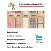 Fast & Affordable Insulation and Drywall for over 20 yrs.