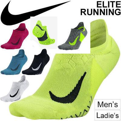 Nike Elite Gepolstert No-Show Laufen Training Fitnessstudio Socken (Gepolsterte Socken No-show)