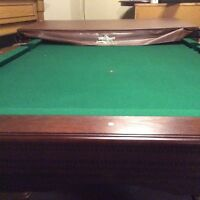 Pool table and accessories - excellent condition