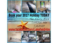BOOK YOUR 2017 HOLIDAY AT HAGGERSTON CASTLE