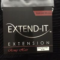 EXTEND-IT CLIP IN HAIR EXTENSIONS, BLACK