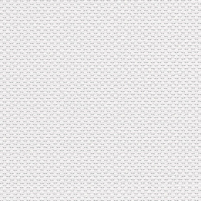 Basketweave White Raised Textured Paintable Wallpaper 48926