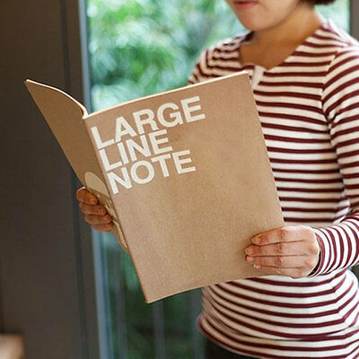HIMORI Craft School Notebook Paper Notepad Journal Stationery_JSTORY Line Note