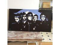 Large Oasis canvas print