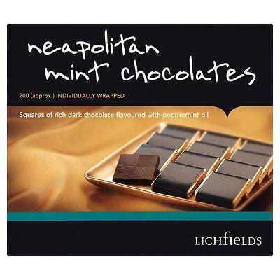 nisch Minze Schokoladen 1 X 200 Individuell Eingewickelte (Individuelle Schokolade)