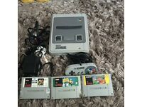 Snes console bundle