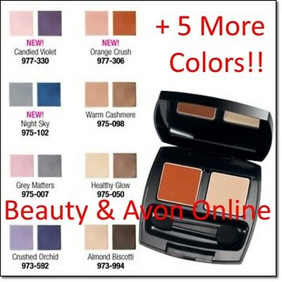 - Avon True Color Eyeshadow DUO  **Beauty & Avon Online**