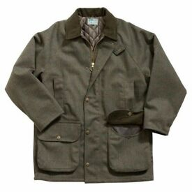 Shooting Jacket Tweed Shooting Country Jacket Size L (Chest 43 inch)