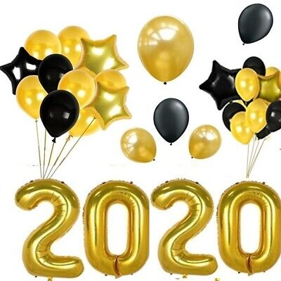 New Year Parties (Gold 2020 Balloons Kit,New Years Eve, Graduation)