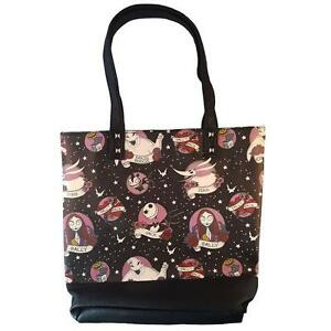 LOUNGEFLY NIGHTMARE BEFORE CHRISTMAS TOTE BAG