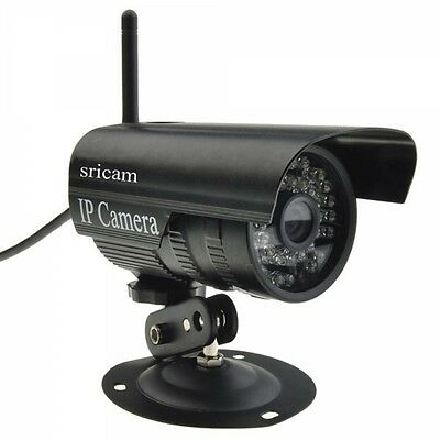 Sricam HD Network Wifi IP Security Camera Wireless Outdoor P2P IR Night Vision
