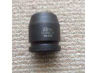 Kennedy 22mm Impact Socket