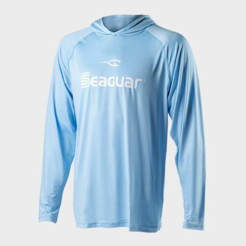 Seaguar UV Long Sleeve Hooded Performance Sun Protection Fishing Shirt