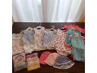 Baby Girl Clothes Bundle 0-3 3-6 6-9 9-12 months
