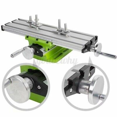 Milling Machine Compound Working Table Cross Slide Bench Drill Vise Fixture Y