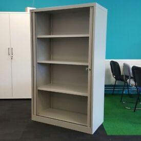 Bisley Tambour Storage Cupboard