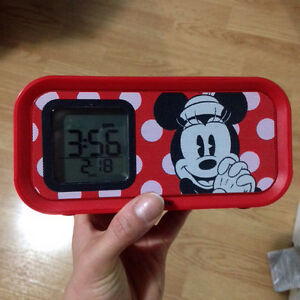Minnie Mouse Music Player/Alarm/Charger/Night Light