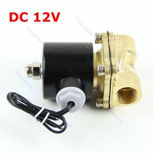Brass 12V DC 1/2