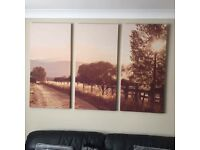Large 3 Piece Canvas from Next