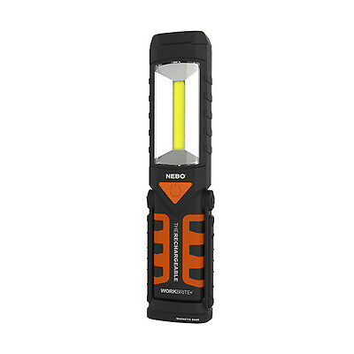 NEBO WORKBRITE 2 6305 RECHARGEABLE WORK LIGHT, FLASHLIGHT, FLASHER  USB