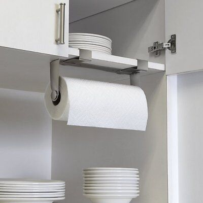 Umbra MOUNTIE Wall Mounted PAPER TOWEL HOLDER Kitchen Roll Holder NICKEL