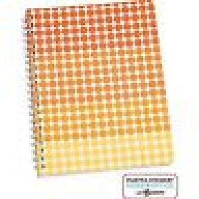 Martha Stewart Home Office Notebook Geometric Orange Dots 5-12 X 8-12