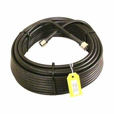 LMR 400 Equivalent Coax Cable - 100 Feet, Pre-Cut, N-Male Connectors (TS340100). Buy it now for 89.95