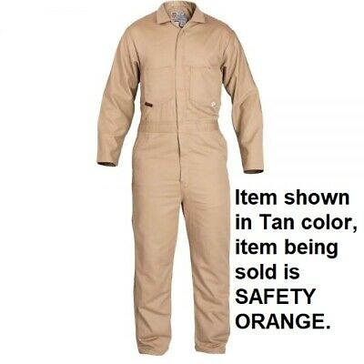 Stanco Nomex Nx4681 Orange Full-featured Contractor Style Coverall 2xl - New