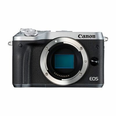 Near Mint! Canon EOS M6 Body Silver - 1 year warranty