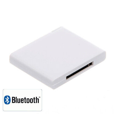 Bluetooth Receiver Dongle 30 Pin Dock Connector for Station Speaker iPhone iPod Ipod Bluetooth Connector